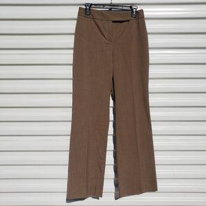 Alex Marie brown straight wide leg dress pants